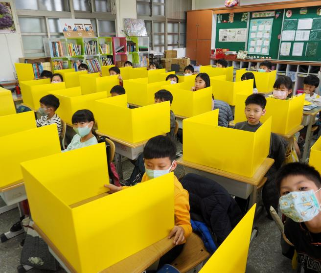 Así previenen coronavirus (Covid-19) en escuelas de Taiwan