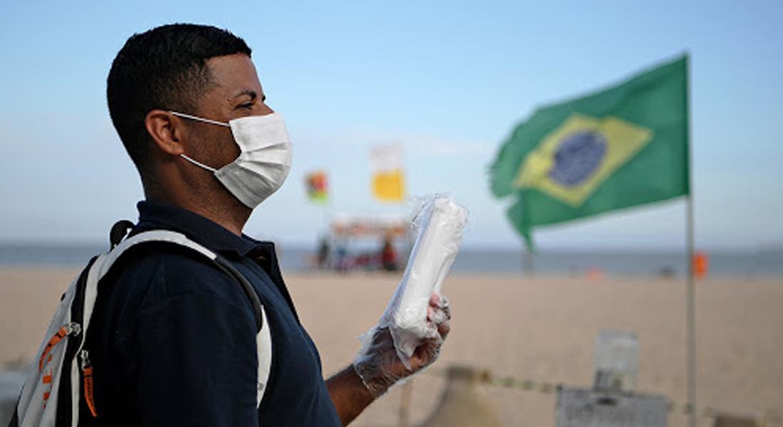 Expertos temen que el invierno pueda agravar el brote del covid-19 en Brasil