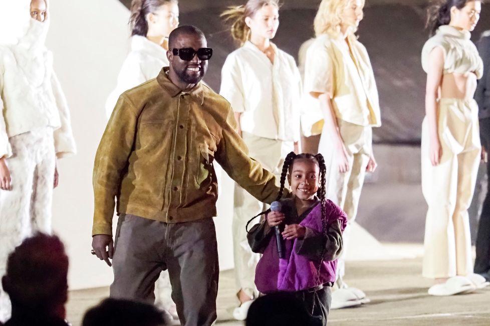 hija de Kim Kardasian debutó como rapera junto a su padre   Foto: Cortesía