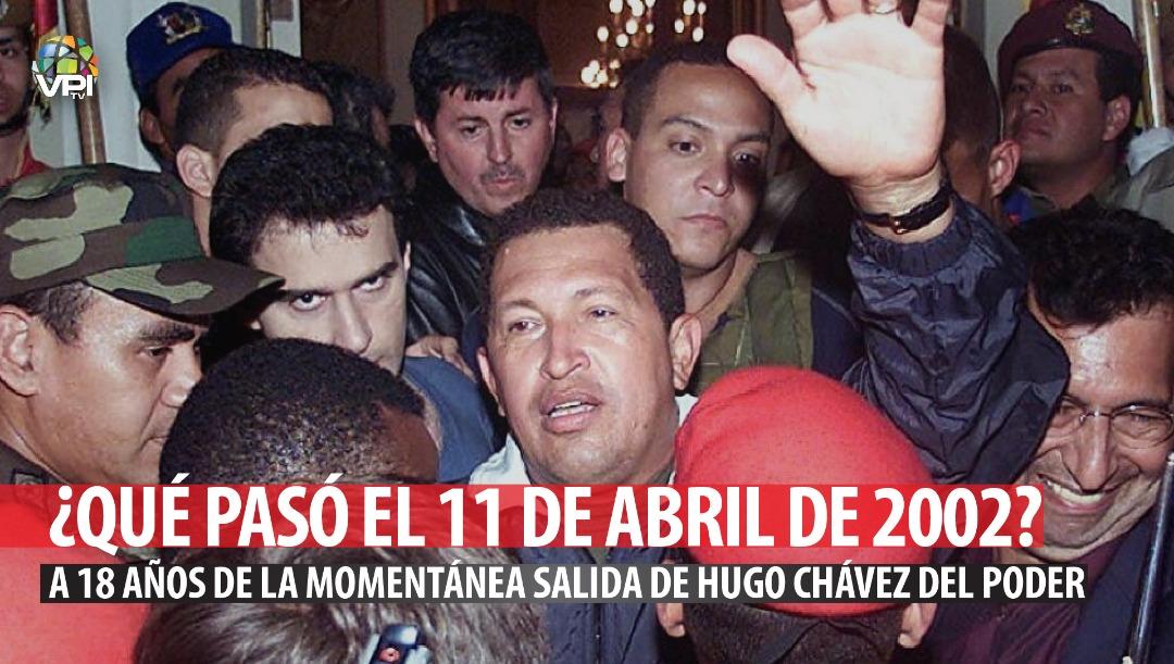 ¿Qué pasó el 11 de abril de 2002? A 18 años de la momentanea salida de Hugo Chávez del poder | Edición: VPItv