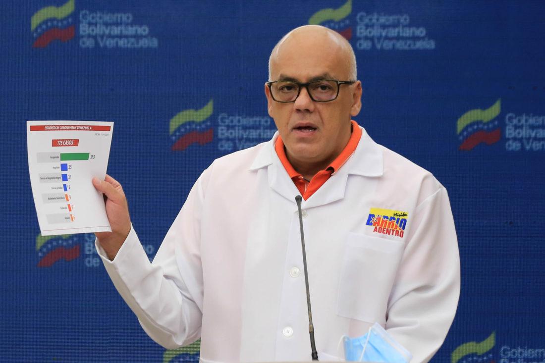 4 nuevos casos de COVID-19 en Venezuela: 193 contagios en total