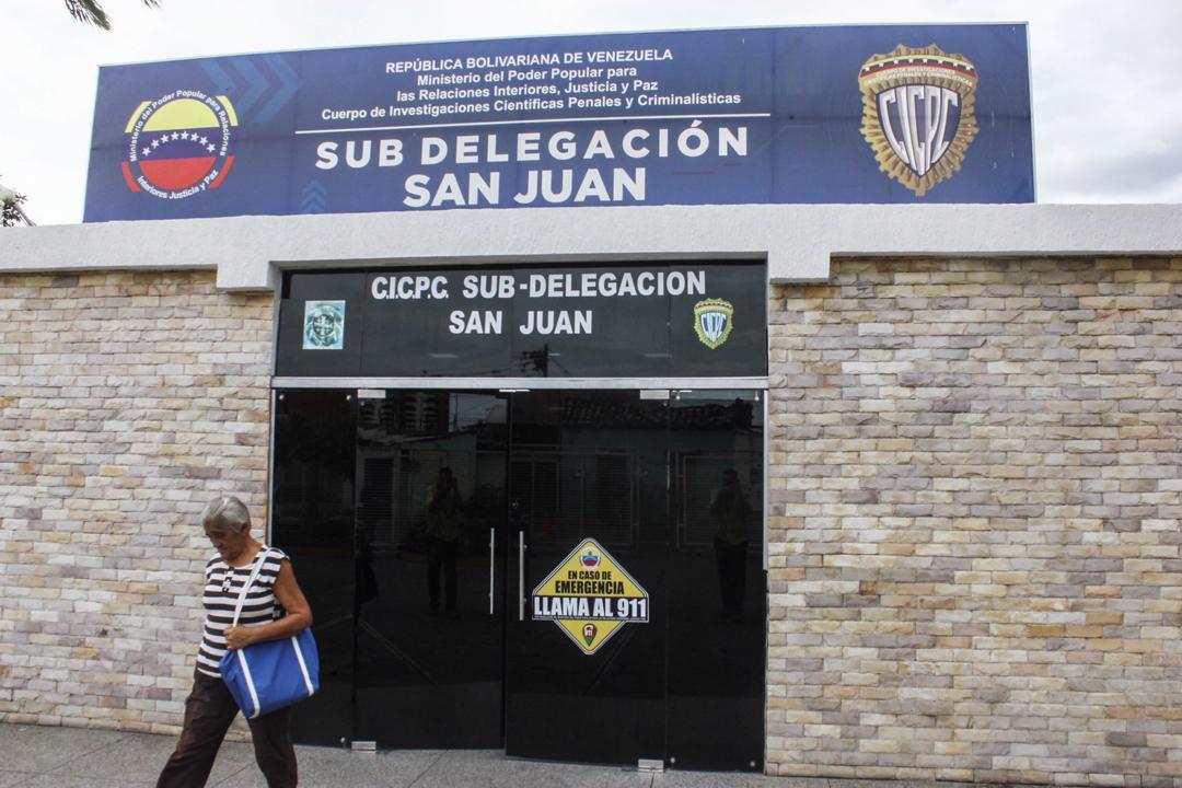 Se fugaron 17 personas de delegación municipal del Cicpc en Barquisimeto (Lara)
