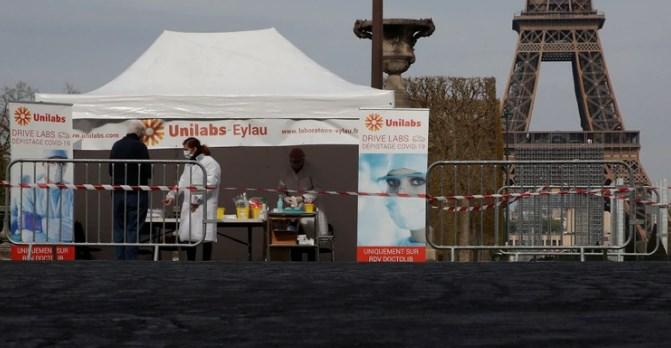541 muertes durante las últimas 24 horas en Francia por COVID-19