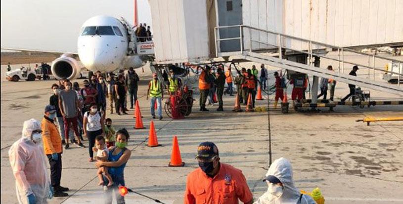 94 personas arribaron a Maracaibo (Zulia) tras ingresar desde Colombia por edo. Táchira