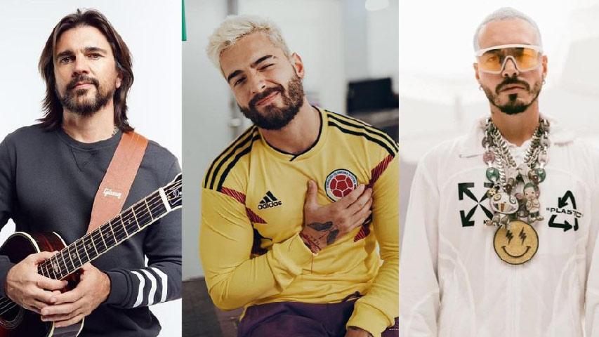 """J Balvin, Juanes y Maluma se sumaron a la """"Donatón por Medellín"""""""