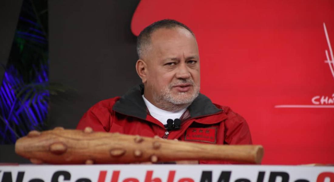 Diosdado Cabello afirmó que oficiales de la FANB reciben mensajes de EEUU para retirar apoyo a Maduro