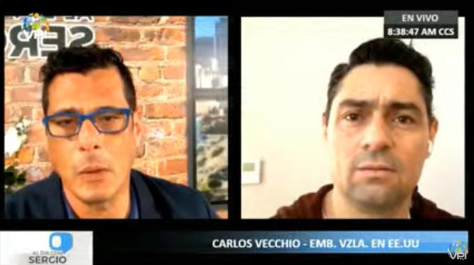 Vecchio rechazó detención del asesor de Guaidó