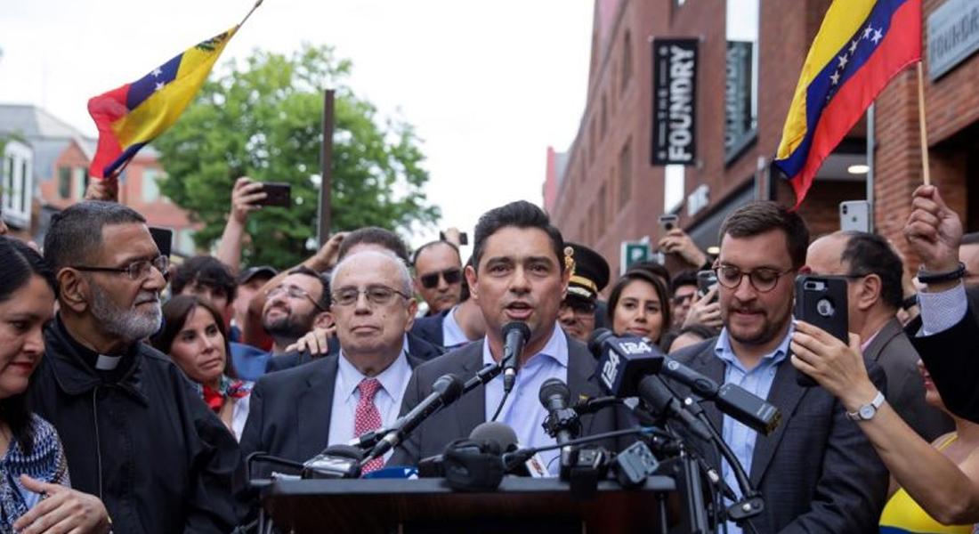 """Embajada de Venezuela en EEUU tildó de """"positiva"""" la operación antidrogas en el Caribe"""
