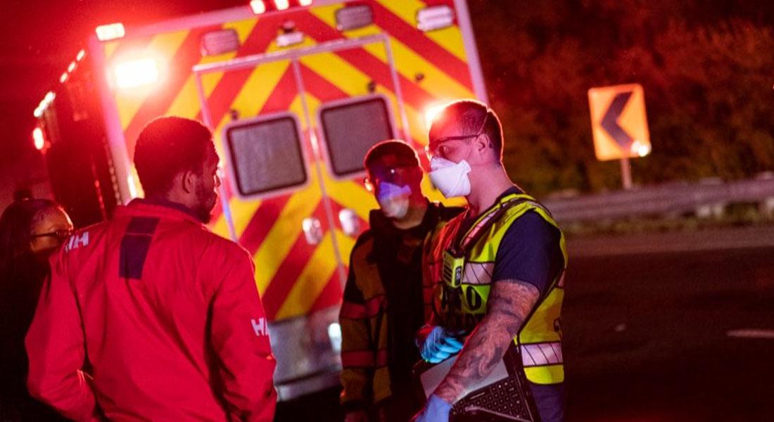 Estados Unidos sumó más de 1.300 nuevas muertes por covid-19 y se acerca al millón de casos foto AFP