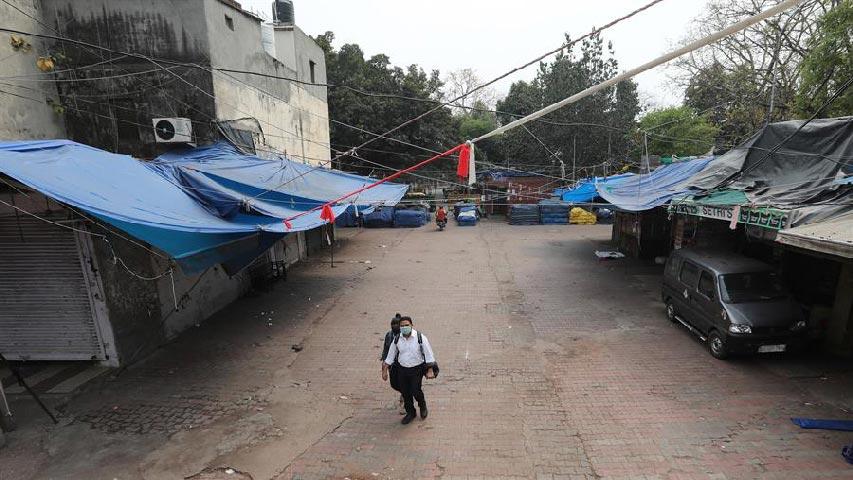 Confinamiento en India