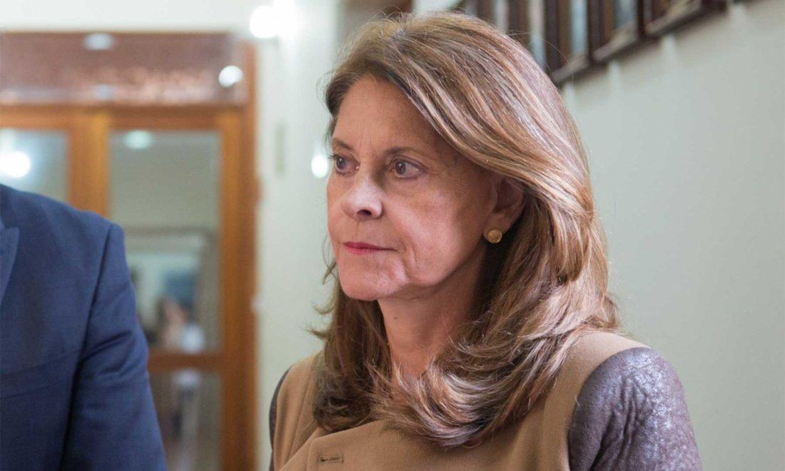 Vicepresidenta colombiana