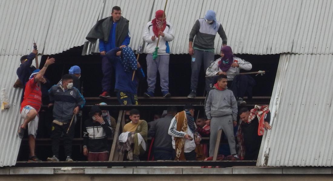 Temor a la pandemia provocó un motín en reconocida cárcel de Buenos Aires