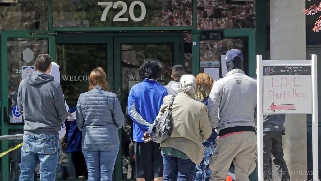 26 millones de estadounidenses en las filas del desempleo