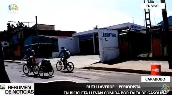 En bicicleta: organizaciones ayudan a niños del Hospital Dr. Enrique Tejera (Carabobo)