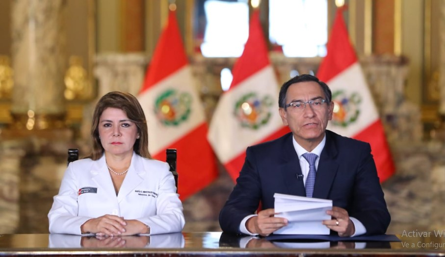 Perú extendió cuarentena obligatoria hasta el 10 de mayo