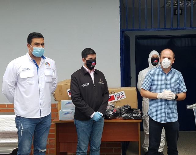 Taiwan donó más de 19 mil insumos médicos para prevenir y detectar coronavirus en Venezuela