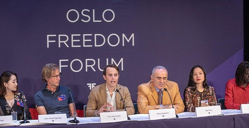 Oslo Freedom Forum: Regímenes autoritario usan pandemia para aplacar movimientos democráticos
