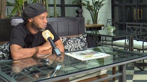 Ronaldinho, desde su arresto domiciliario en Paraguay, ofrece declaraciones al diario ABC de España