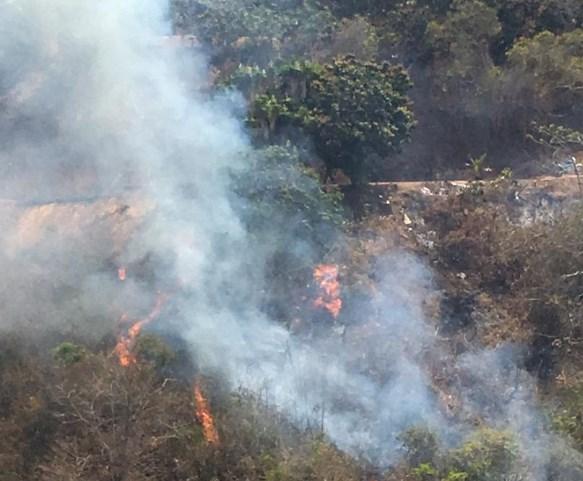 12 incendios en 3 días: autoridades de El Hatillo en alerta