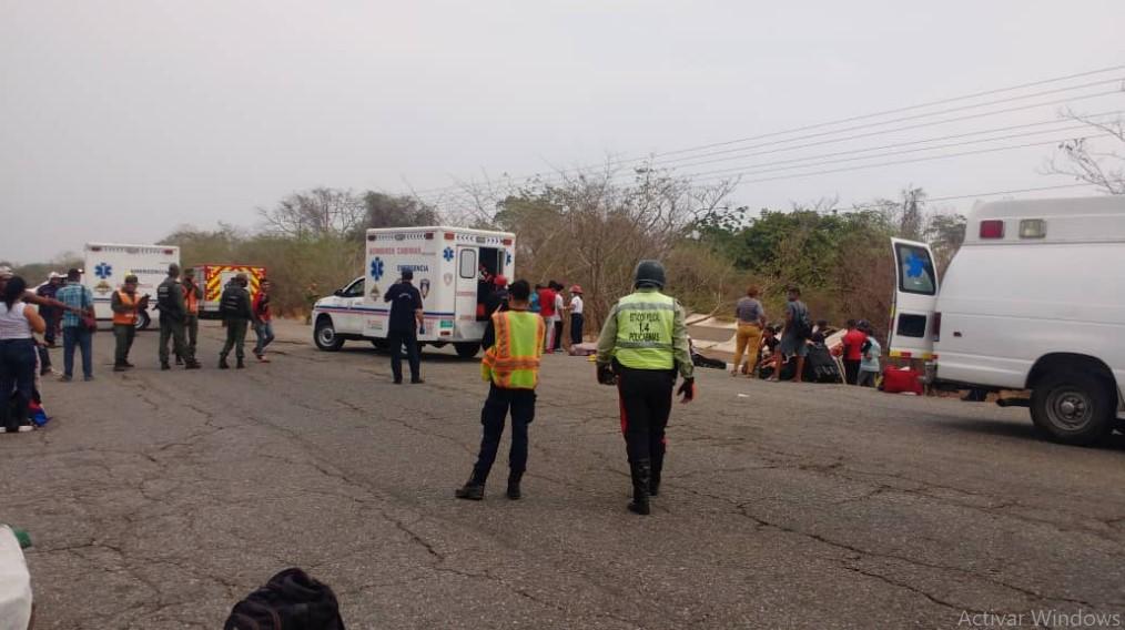Falleció tercera persona que iba a bordo de bus Expreso en el Zulia