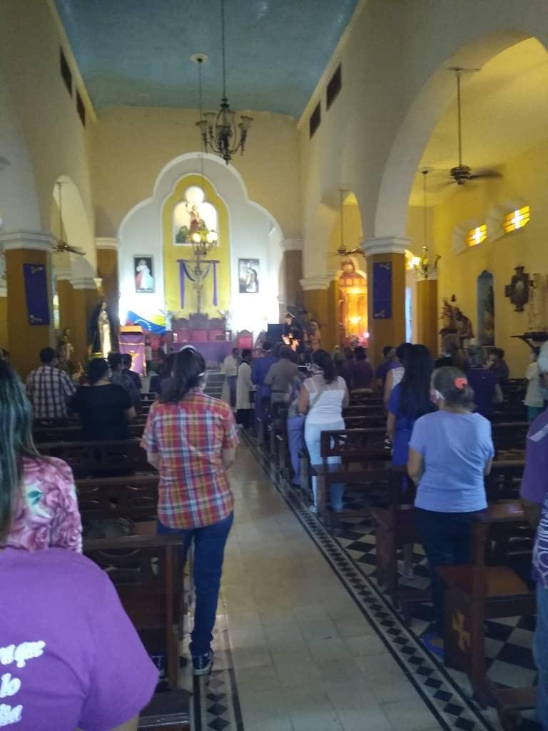 Nazareno en Guárico | Foto: Cortesía