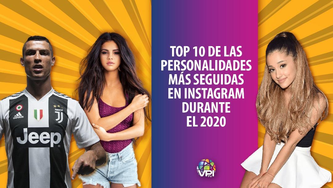 Top 10 más seguidas en Instagram
