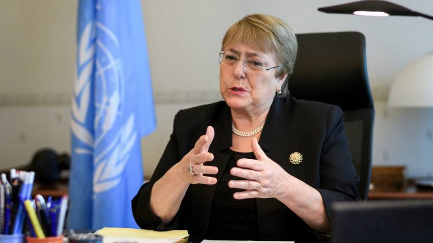 Bachelet   Foto: Cortesía