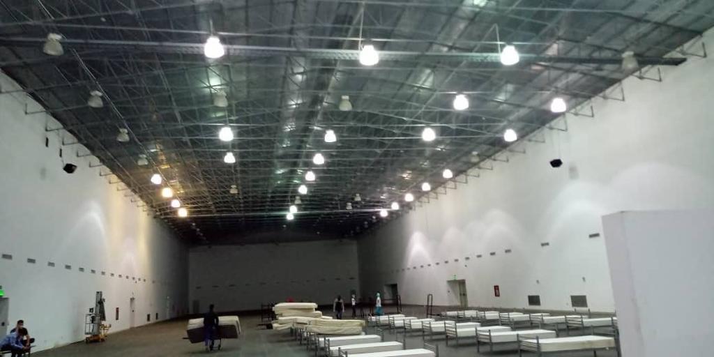 Instalarán 100 camas en centro de aislamiento en Nueva Esparta
