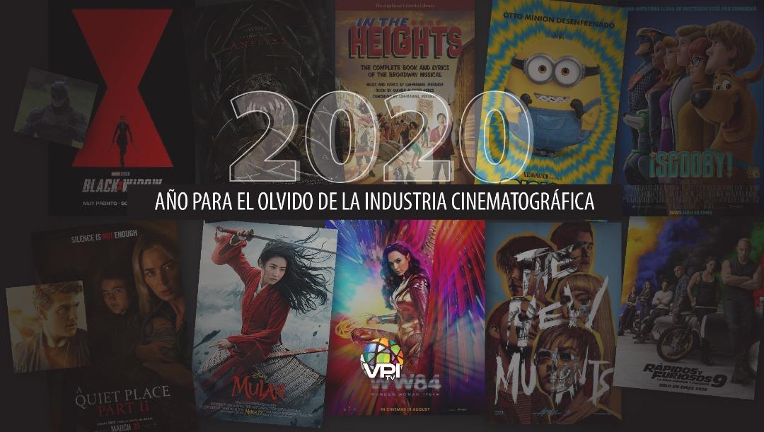 2020 sin cine ¿Año borrado en la historia cinematográfica?