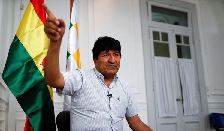 Desde su asilo político en Argentina, Evo Morales sigue muy de cerca los acontecimiento en la región y el mundo