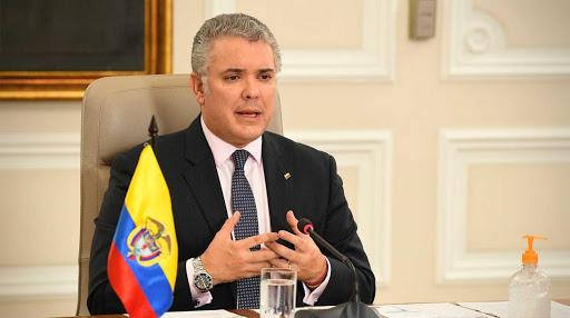 Duque presidente de Colombia