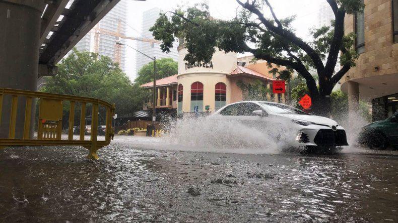 Precipitaciones en Miami
