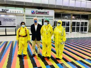 94 argentinos regresaron a su país en vuelo humanitario desde Venezuela