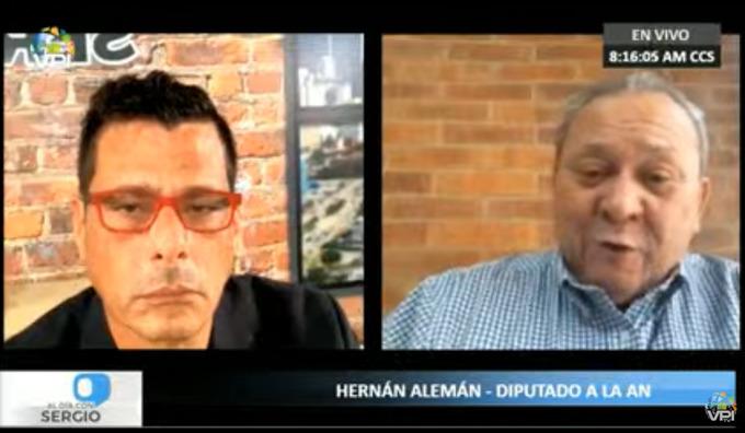 Alemán confirmó participación con Cliver Alcalá