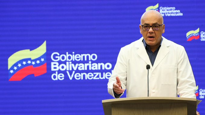 Casos nuevos de Covid-19Jorge Rodríguez