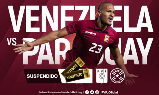 Póster para el primer partido de Venezuela en las eliminatorias rumbo al Mundial Qatar 2022