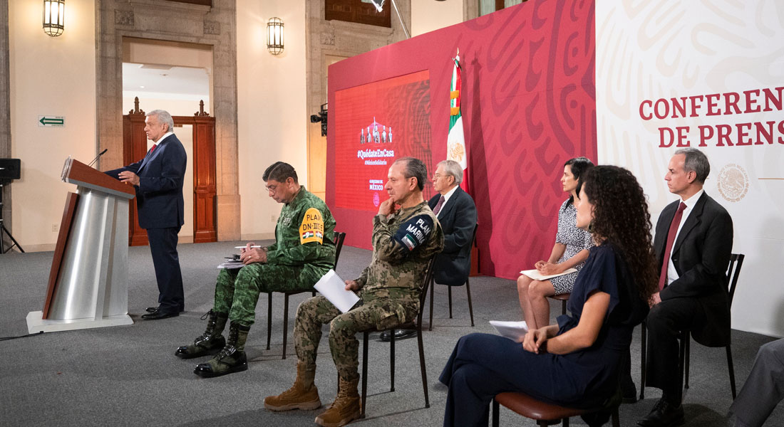 México roza los 25.000 positivos y superó 2.200 muertos por covid-19