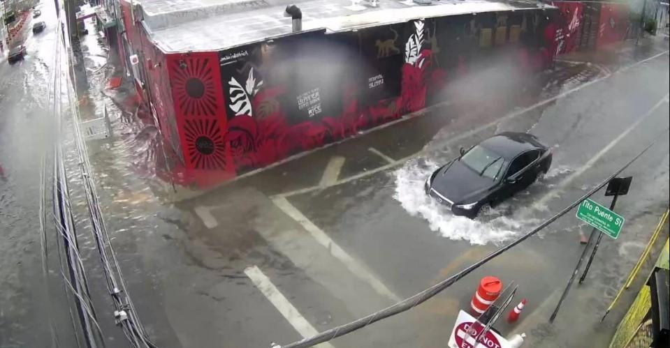 Calles inundadas: fuertes precipitaciones causan estragos en Miami