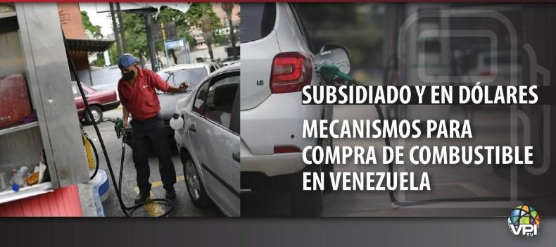 Subsidiado y en dólares: mecanismos para compra de combustible en Venezuela