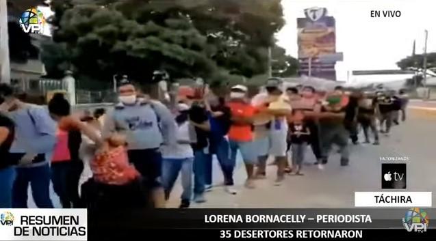 """35 militares """"desertores"""" habrían regresado a Venezuela por el estado Táchira"""
