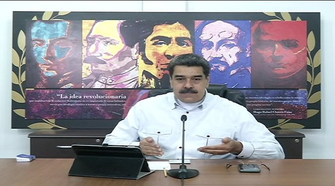 Maduro anunció plan de flexibilización de la cuarentena y de distribución de combustible