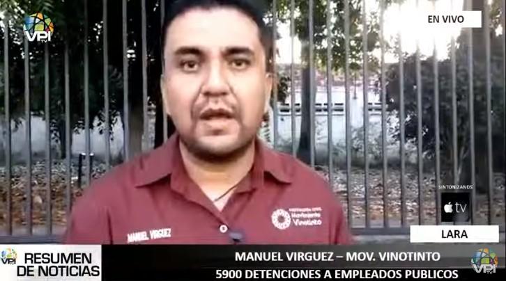 """Movimiento Vinotinto denunció que 49 dirigentes sindicales se encuentran detenidos por """"pensar distinto"""""""