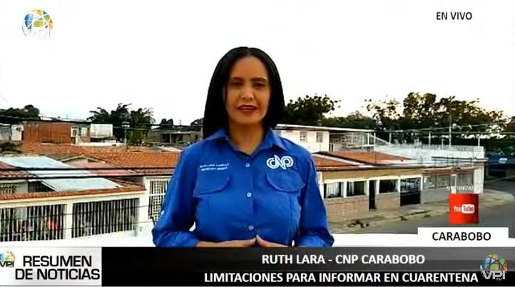 CNP Carabobo registró 57 agresiones contra trabajadores de la prensa desde inicio de la cuarentena