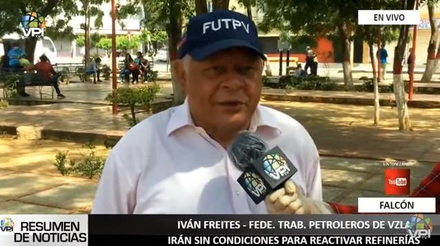 Federación de Trabajadores Petroleros de Venezuela rechazó concesiones a Irán sobre refinerías