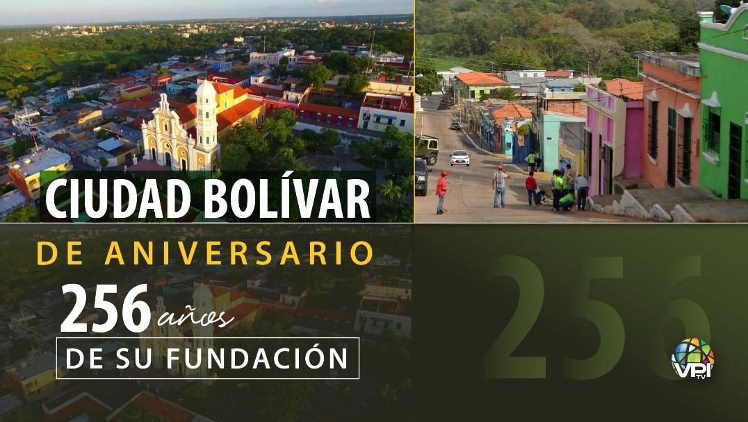 De aniversario: Ciudad Bolívar cumple 256 años de historia y belleza