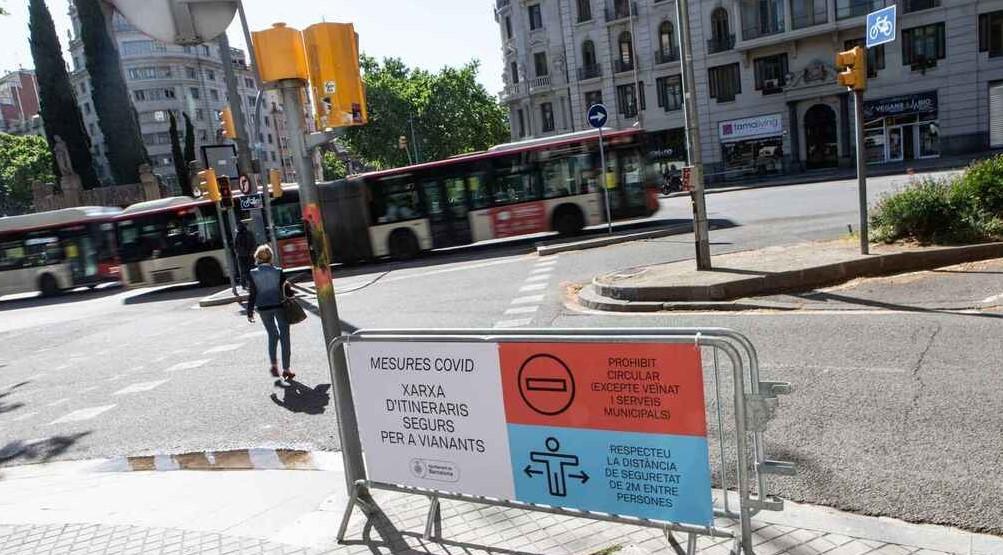 Comercios en Madrid y Barcelona abrieron puertas en fase 1 de desescalada
