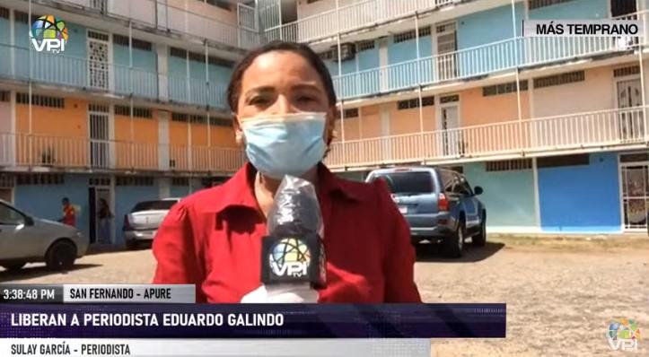 Periodista Eduardo Galindo fue excarcelado y no podrá rendir declaraciones públicas