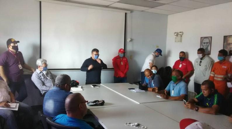 Federación de Trabajadores Petroleros condenó detención contra trabajador de Pdvmarina