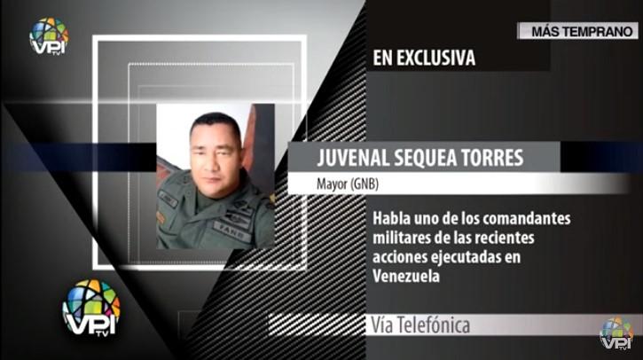 Exclusiva: M/G Juvenal Sequea Torres ofreció detalles del movimiento para salida de Nicolás Maduro