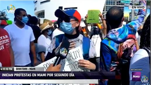 Manifestaciones en Miami
